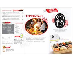 modern elegant brochure design for tian xia by noirblanc design