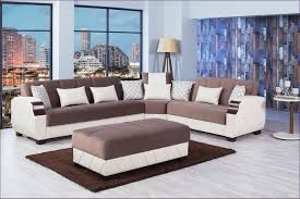 furniture fabulous brown leather sectional sofa with chaise navy