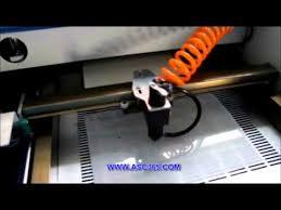 co2 laser machine u0026 mylar stencil material stencil maker youtube