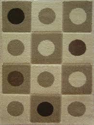 Squares Rug Colorado Dots U0026 Squares Ivory Shag Rug