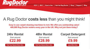 Renting A Rug Doctor Cost Cleaning The Carpets With Rug Doctor Guest Blog By Clare Elise