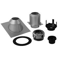 shop supervent 5 piece chimney pipe accessory kit for ceiling