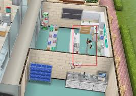 sims stuck in professions police station movie hospital