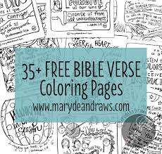 free bible verse coloring pages 35 pages free hand drawing