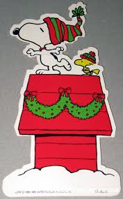 snoopy doghouse christmas decoration peanuts gift tags collectpeanuts