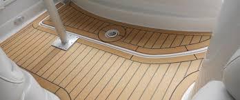 synthetic teak marine decking u2013 easy maintenance