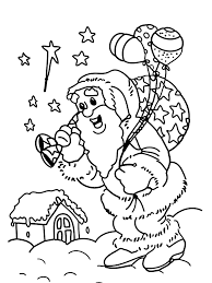 gifts for christmas coloring pages for kids christmas coloring