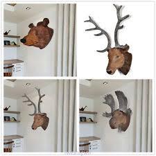 Moose Head Decor Deer Head Home Decor Ebay