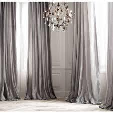 Silk Dupioni Curtains Platinum Silk Curtain Dupioni Silk Grey Silver Window