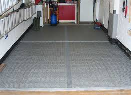 refurbished garage floor using bergo royal tiles tact tiles