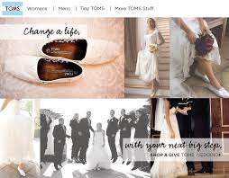 chagne bridesmaid shoes the wedding that gives back toms on your big day bridesmaid