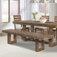 farmhouse table and chairs with bench farmhouse table set with bench wayfair
