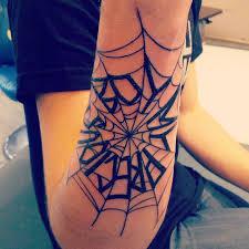 tattoo spider web elbow spider web prison tattoo