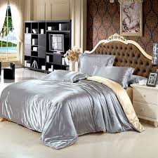 King Size Duvet Bedding Sets New Arrive Imetated Silk Bedding Set Home Textile Bed Linen Set