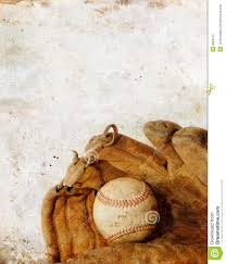baseball and glove on grunge background royalty free stock