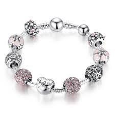 pandora charm silver bracelet images Antique silver charm bracelet startworldshop jpg