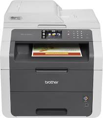 brother mfc 9130cw color wireless laser printer gray mfc 9130cw