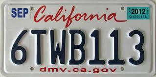 Banned Vanity Plates California 2 Y2k