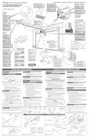 genie garage door wiring diagram craftsman garage door wiring