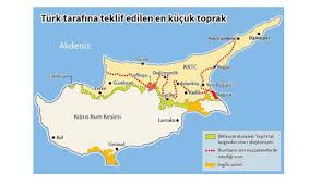map of cyprus government denies submitting territory map cyprus mail