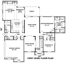 big floor plans big family house plans floor plan u shaped 5 bedroom family home