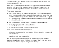 what is a good resume resume example