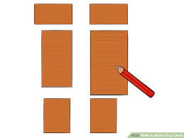 How To Build A Wooden Toy Chest by How To Build A Toy Chest 14 Steps With Pictures Wikihow