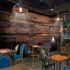 custom wallpaper murals large wall painting retro nostalgic wood