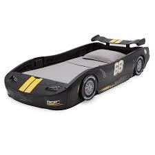 amazon com delta children turbo race car twin bed black baby