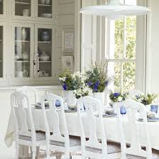 Quick And Easy Ways To Decorate For Easter Ideal Home - All white dining room