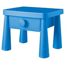 Ikea Bed Table by Mammut Nightstand In Blue From Ikea Looks Like The Side Table