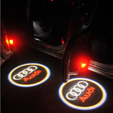logo audi naante cool logo car auto special door lamp for old audi welcome light