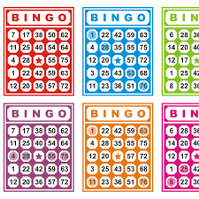 free vector colorful bingo cards free vector 26808 my graphic hunt