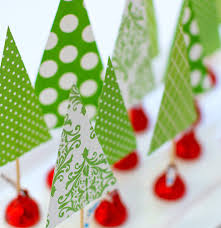 winsome 14 3 with holiday centerpiece idea hershey kiss mas tree
