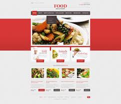 catering responsive website template 44196