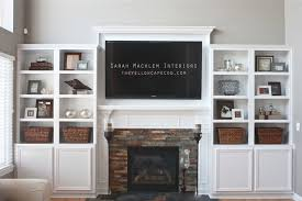 Family Room Builtins Family Room Detroit By The Yellow Cape Cod - Family room built in cabinets