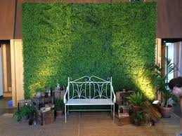 wedding backdrop hire brisbane green wall backrop weddings green walls wedding