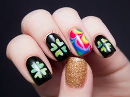 interesting st patrick u0027s day nail designs that you can copy