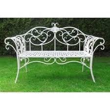 White Metal Outdoor Bench 35 Best Havebænk Images On Pinterest Garden Benches Cast Iron