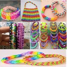 diy bracelet rubber bands images Factory hot loom bands 600 opp 19 color loom bands kits diy jpg