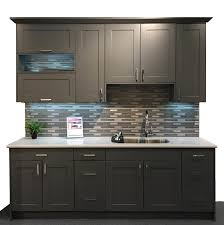 Kitchen Cabinets Closeouts Revolution American Matte Gray Cuppertino