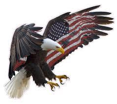 Eagles Flag American Eagle American Flag Wall Decor Nostalgia Decals