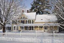 Winter House It U0027s A Winter Wonderland In Woodstock Vermont Jackson House