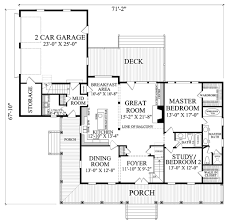 Front To Back Split House Farmhouse Style House Plan 4 Beds 3 00 Baths 2556 Sq Ft Plan