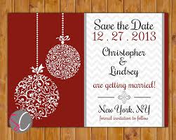 printable christmas party invitations save the date chevron christmas wedding card ornate ornament