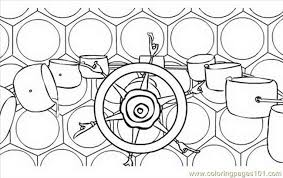 bee movie 02 coloring free bee movie coloring pages