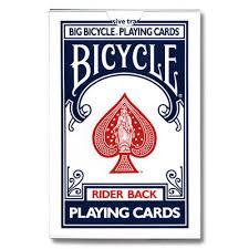 jumbo bicycle card deck fast shipping magictricks