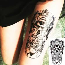 discount tribal tattoo body stickers 2017 tribal tattoo body