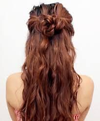 hair bun 13 half bun hairstyles half up half hair tutorials
