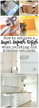 how to get a smooth finish when painting kitchen cabinets how to achieve a smooth finish when painting